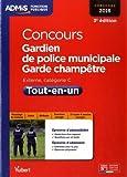 Concours Gardien de police municipale et Garde-champêtre - Catégorie C - Tout-en-un - Concours 2016
