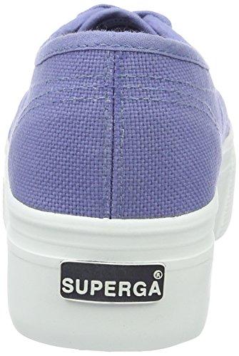 2790 para Acotw Linea Mujer Blue Up Superga Velvet Zapatillas Blau aHXcqdHf