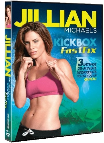 Jillian Michaels Kickbox FastFix (Jillian Michaels The Biggest Winner Cardio Kickbox)