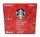 Starbucks 2017 Holiday Blend Coffee K-Cups (32 Count)