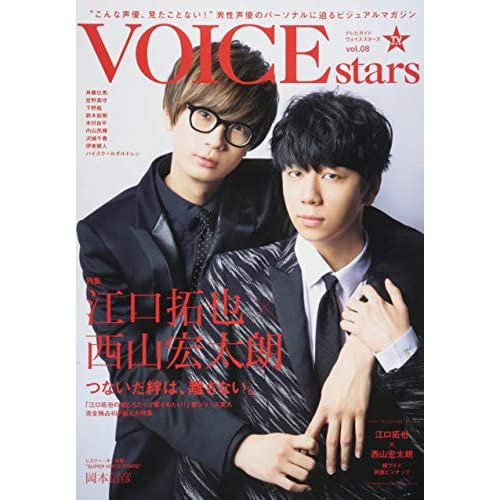 TVガイド VOICE STARS vol.08 表紙画像
