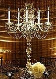 SET OF 10 WEDDING CANDELABRAS CANDELABRA CENTERPIECE CENTERPIECES - GREAT FOR SPECIAL EVENTS! - SET OF 10