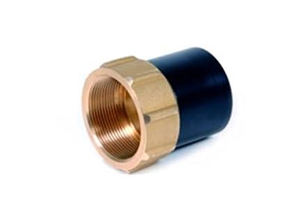 Soldadura eléctrica fittings de transición adaptador con rosca hembra de polietileno/Latón para EF manguito