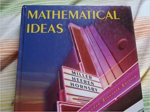 Amazon. Com: video lectures to accompany mathematical ideas.