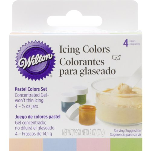 Wilton Icing Colors .5oz (Wilton Pastel)