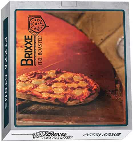 Pizza Stone For Oven Grill Baking Breads Cooking BBQ Cooker w/