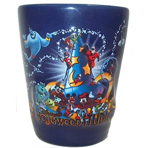 Disney Parks Exclusive Hollywood Studios Ceramic 3D Style Shot Glass