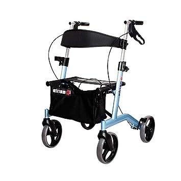 WXC WALKER Ayuda a Caminar Andador Andador con Asiento Freno ...