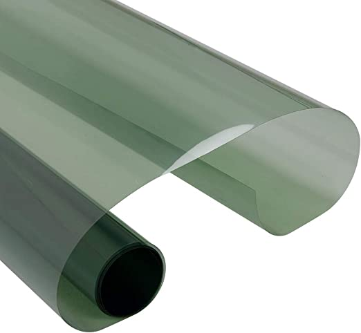 VLT 70/% 2Mil Green Nano Ceramic Solar Tint Film Car Front Windshield Tint Privacy Glass UV100/% for Auto Car Home Window Vinyl