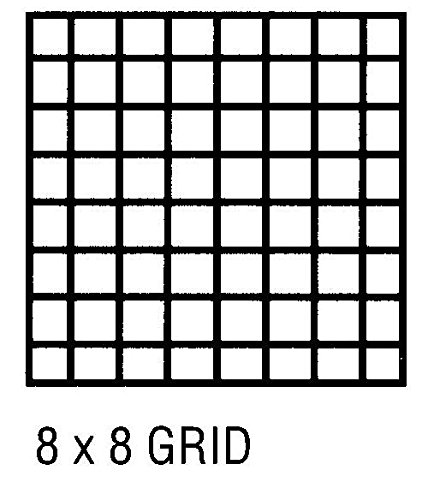 Alvin 6855X-17 Alva-Line 100 percent Rag Vellum Tracing Paper 100-Sheet Pack 8x8 Grid 18 inches x 24 inches by Alvin (Image #2)