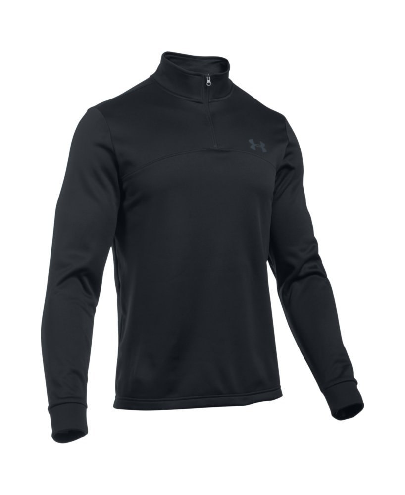 Under Armour Men's Storm Armour Fleece 1/4 Zip, Black (001)/Graphite, Small by Under Armour (Image #4)