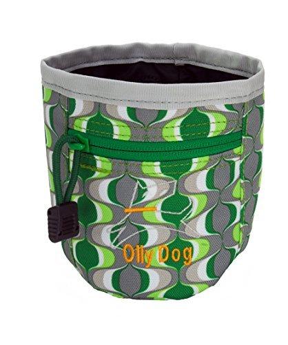 Ollydog Treats (OllyDog Treat Bag Plus, Medium, Green Mod by OllyDog)