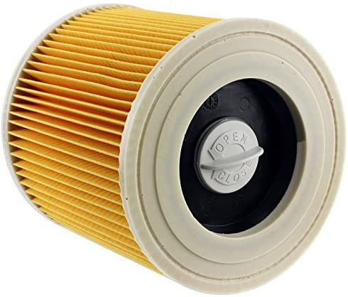 Spares2go Filtro de cartucho para aspiradoras Karcher MV2 NT27/1 ...