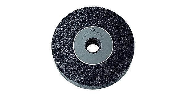 Desk /& Table Top Sanding Grinders /& Sharpeners Heavy Duty Aluminium Oxide Sharpening Stone Loops 150mm x 20mm Bench Grinding Wheel /& 2x Bore Adapters 46 Grit MEDIUM