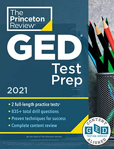 Princeton Review GED Test Prep, 2021: Practice