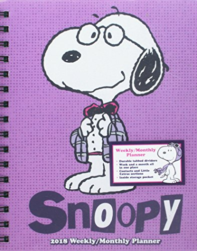 Price comparison product image Snoopy 2018 Weekly / Monthly Planner