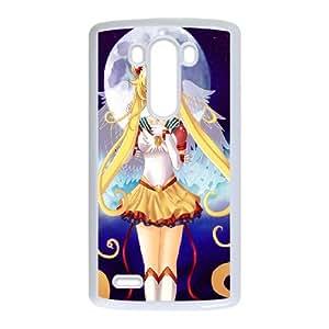 Sailor Moon LG G3 Cell Phone Case White