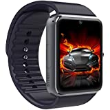 SQDeal Smart Watch Phone Bluetooth Smartwatch - NFC, SIM Card Solt, for Samsung HTC Sony LG Nokia Blackbeery Android Smartphones