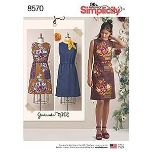Simplicity Patterns Dresses, H5 (6-8-10-12-14)