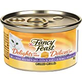 Purina® Fancy Feast® Delights with Cheddar Grilled Turkey & Cheddar Cheese Feast in Gravy Cat Food 85g Can