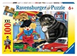 Ravensburger- Kitty Playtime - XXL 100 Piece Jigsaw Puzzle (108114) by Ravensburger