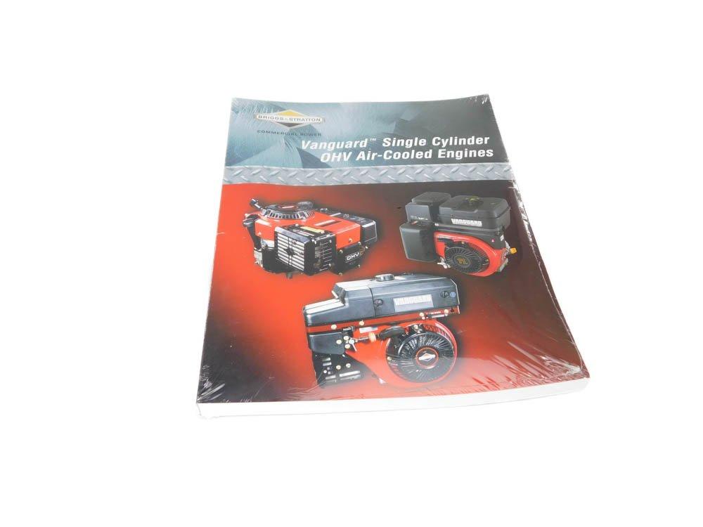 Briggs and Stratton Genuine 272147 - Manuale di riparazione per monocilindro