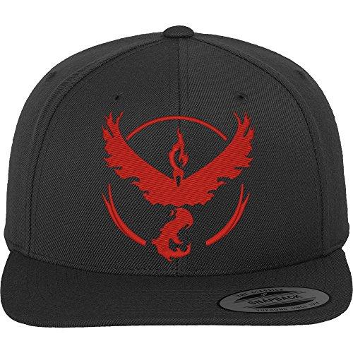 Go Team Rot Cap - Cap, schwarz, Gr. Einheitsgröße