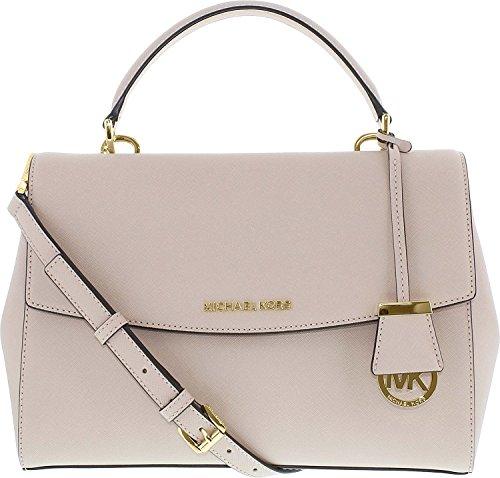 288636bb0df0 Michael Kors Ballet Ava Medium Saffiano Leather Satchel Bag - Import ...