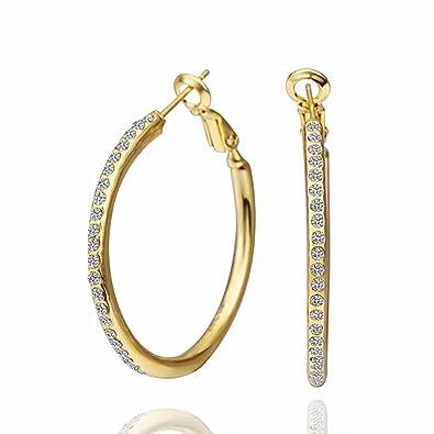 Mes-Bijoux-Bracelets Boucles d oreilles créole Doré or jaune 750 000 ... e4bcaf64adcf