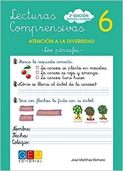 Lecturas Comprensivas 6 - Leo Párrafos por José Martínez Romero epub