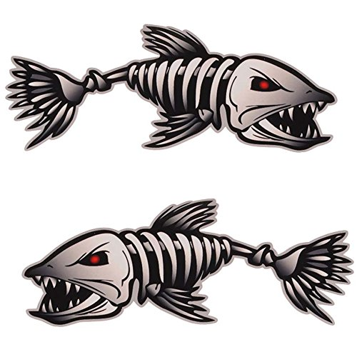 Fish decals for boats for Fishing boat decals