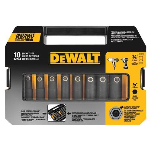 DEWALT DW22838 3/8-Inch 10-Piece IMPACT READY Socket Set by DEWALT (Image #2)