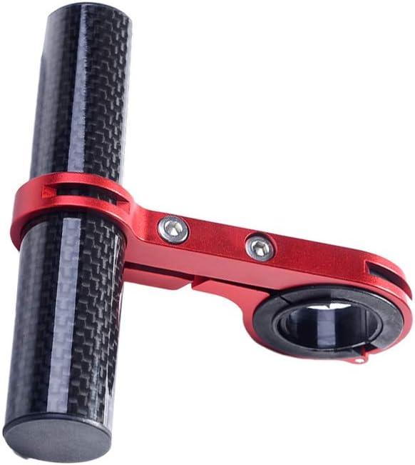 Rojo LIOOBO Extensi/ón de Manillar de Bicicleta Aleaci/ón de Aluminio Extensor de Bicicleta Extensi/ón de Manillar Accesorios de Bicicleta