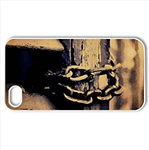 Chain Watercolor style Cover iPhone 4 and 4S Case