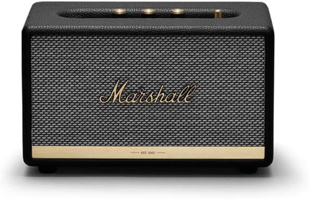 Marshall Acton II Bluetooth, Altavoz, Tamaño Único, Negro