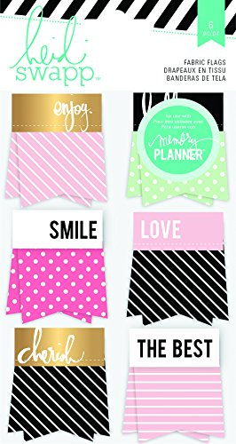Heidi Swapp Hello Beautiful Fabric Flags -