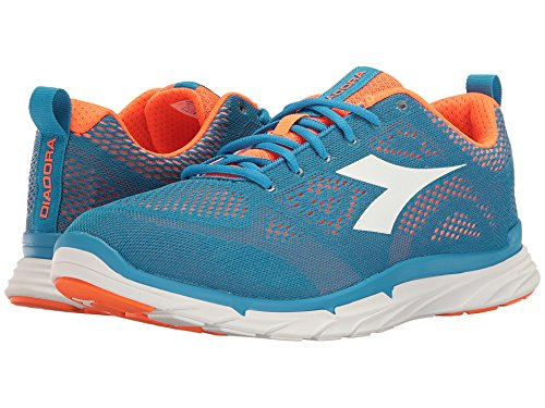 Diadora Shoes Running Sneaker Jogging Men NJ-303 Trama Coronel blue/orange 43 Royal Size (Diadora Team Backpack)