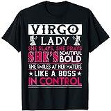 Virgo Lady T-Shirt She Slays She Prays She's Beautiful