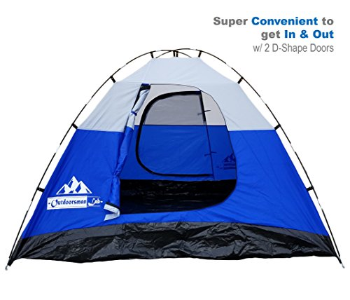 Outdoorsmanlab 3 Person Tent For Camping Backpacking