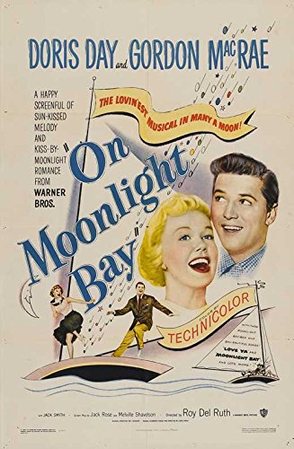 Moonlight Bay Poster (On Moonlight Bay Poster Movie 27 x 40 Inches - 69cm x 102cm Doris Day Gordon MacRae Billy Gray Jack Smith Leon Ames)