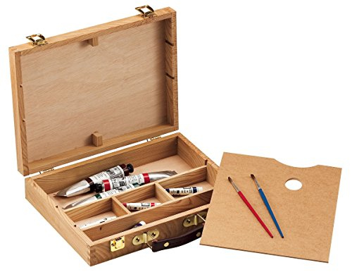 "AlvinCo HWB147 2.75"" Medium Wood Sketch Box"