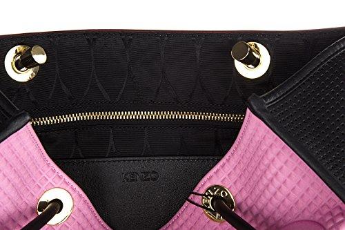 Kenzo sac à main femme en cuir kombo rose -gregoirecelier.fr 23d10055853