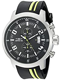Invicta Men's 20217SYB S1 Rally Analog Display Quartz Black Watch