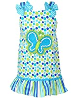 """Youngland Little Girls' Toddler """"Bubbly Butterfly"""" Dress"""