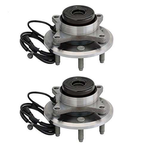 Detroit Axle - 6-Lug Front Wheel Bearing and Hub Assembly Pair for 2WD 2011-2014 Ford F-150 - [2011-2014 Ford Expedition] - 11-14 Navigator