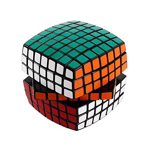 Large Rubiks Cube - HUILINGDON cube Multi-Colored Twisty Magic Puzzle Speed Cube 7x7x7, Cube Puzzle Toys