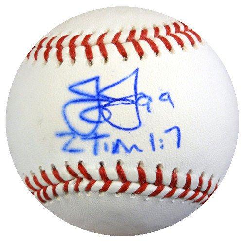 Texas Rangers Autographed Mlb Baseball - James Jones Signed Rawlings Official Major League Baseball Texas Rangers - Autographed MLB Baseballs