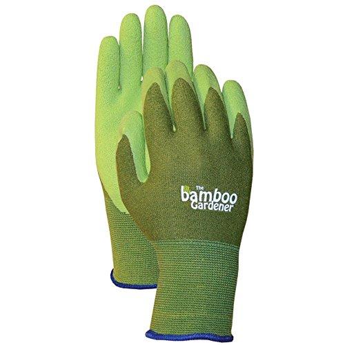 Bamboo Gardener Rubber Gloves Small