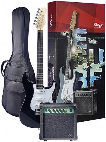 Stagg 25018419 Esurf 250 BK normas de la UE guitarra eléctrica ...
