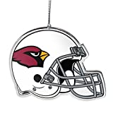 NFL Arizona Cardinals Flat Metal Helmet Ornament